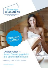 Frauensauna - Ladies only